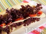 Рецепта Сандвич с пуешко филе и ементал